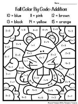 coloring worksheets for grade 2 pdf fall coloring pages color by code second grade by mrs pdf 2 coloring for worksheets grade