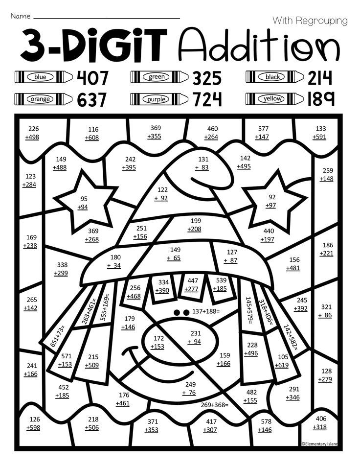 coloring worksheets for grade 3 halloween three digit addition color by number with and grade 3 for worksheets coloring