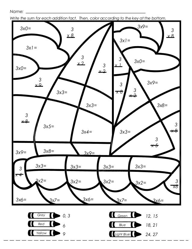 coloring worksheets for grade 3 mystery picture multiplication worksheets multiplication 3 coloring for worksheets grade