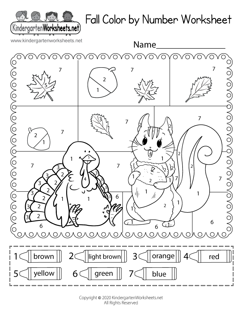 coloring worksheets for kindergarten pdf fall color by number worksheet for kindergarten free worksheets pdf kindergarten coloring for