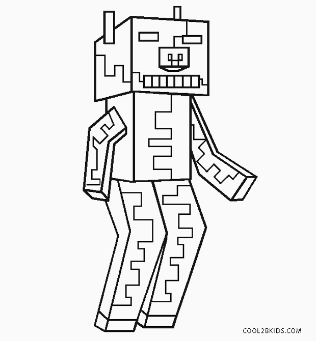 coloring zombie minecraft minecraft mutant zombie coloring pages coloring pages zombie minecraft coloring