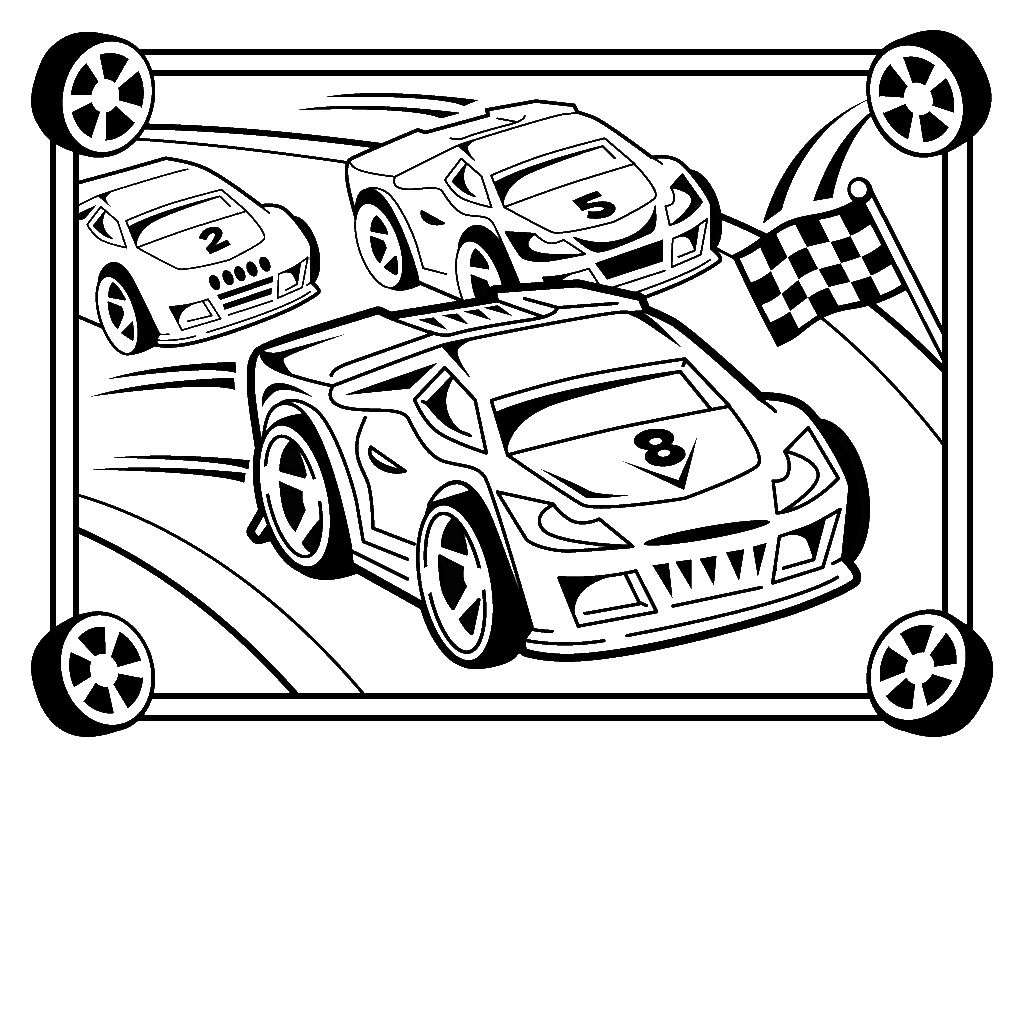 colouring cars muscle car coloring pages at getcoloringscom free colouring cars