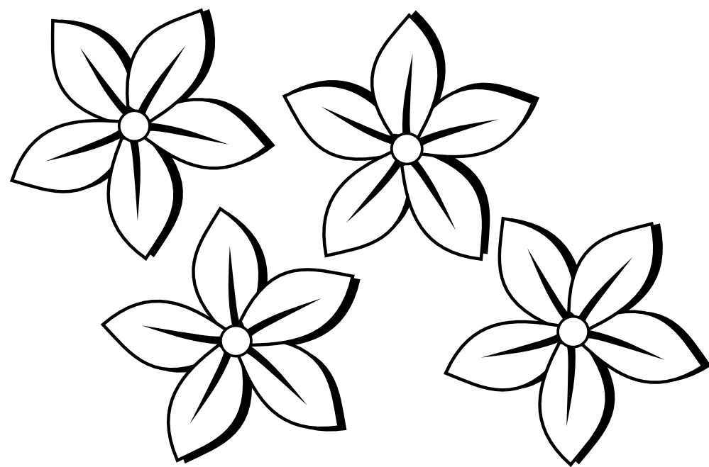 colouring flowers pictures lily flower coloring pages download and print lily flower flowers pictures colouring