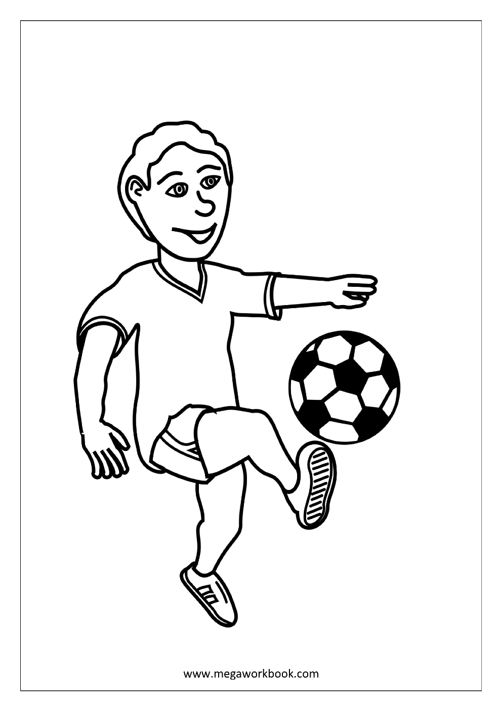 colouring football fighting football coloring page woo jr kids activities colouring football