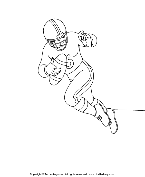 colouring football football coloring sheet turtle diary football colouring