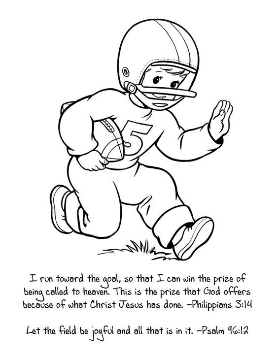 colouring football football player coloring pages free printable football football colouring