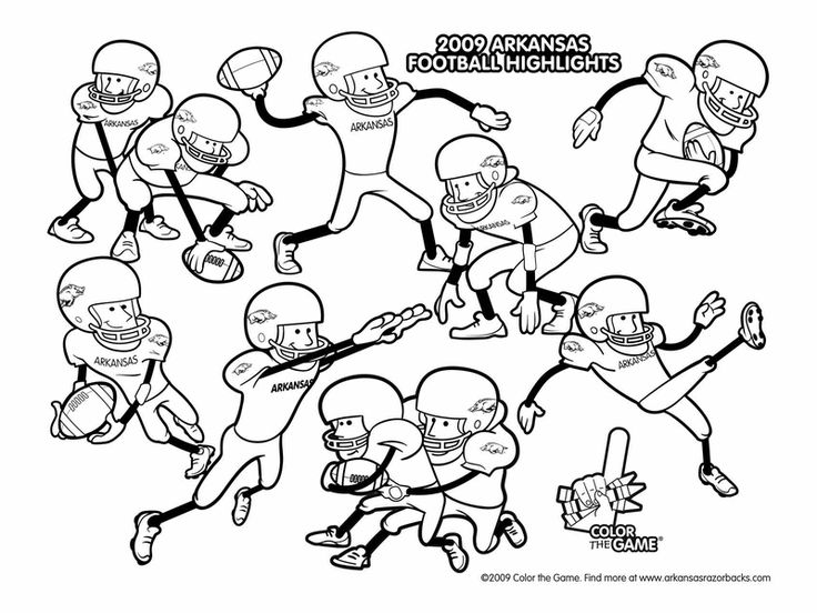colouring football football player coloring pages free printable football football colouring 1 1