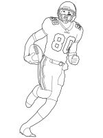 colouring football football player coloring pages free printable football football colouring 1 2