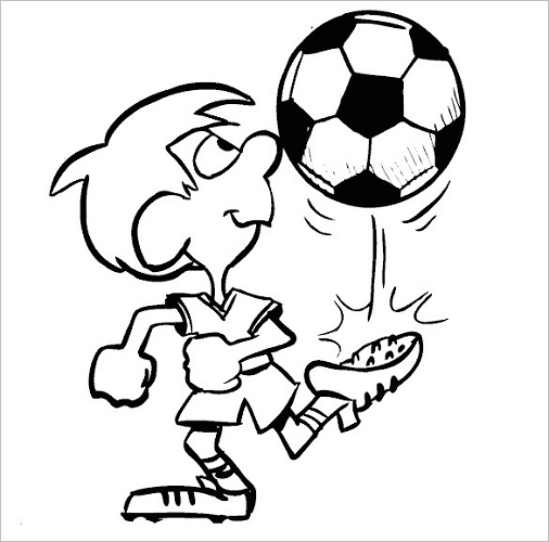 colouring football free printable fifa world cup coloring pages colouring football