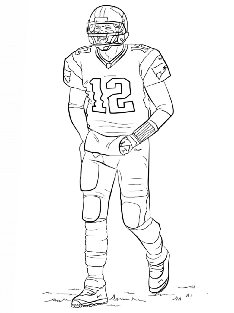 colouring football printable football player coloring pages for kids cool2bkids football colouring