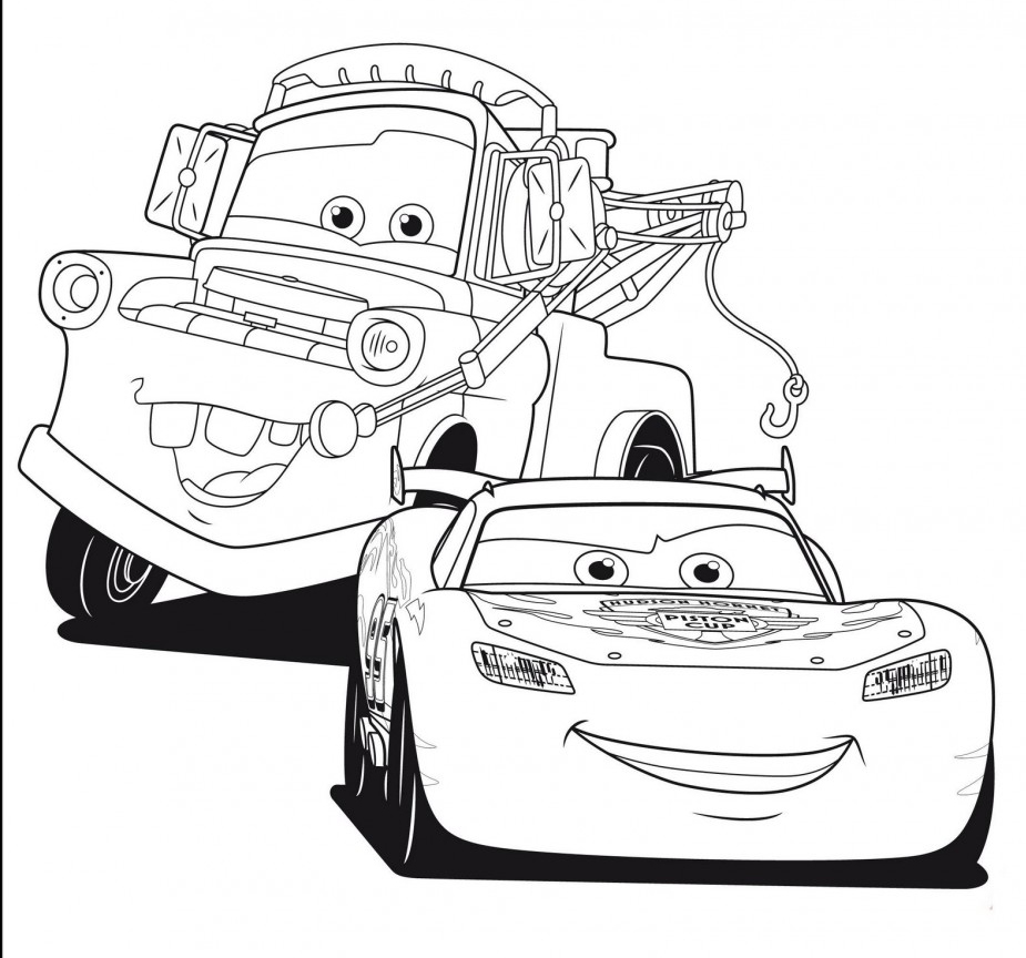 Colouring in cars