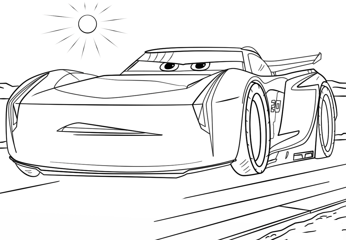 colouring in cars cars coloring pages free large images cars colouring in
