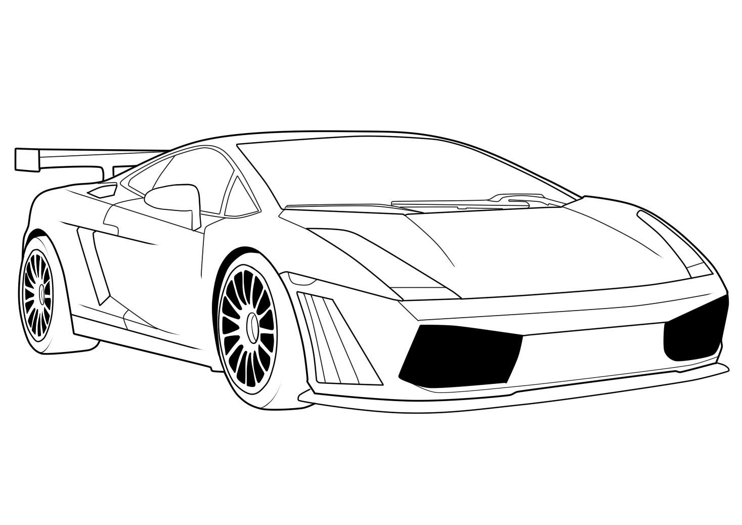 colouring in cars sports car coloring pages free and printable colouring cars in