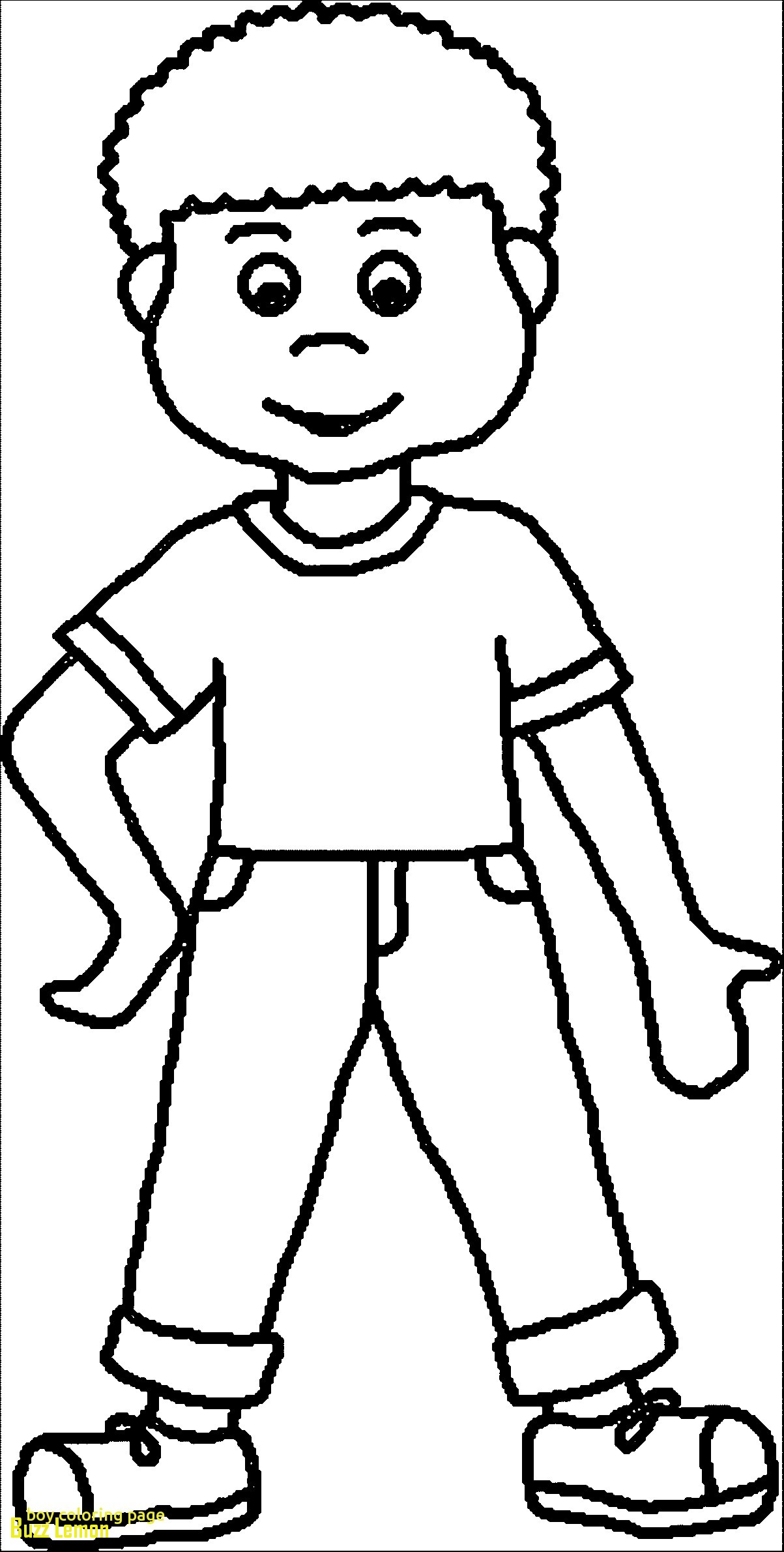 colouring page of a boy a coloring page of a little boy coloring home boy a colouring of page
