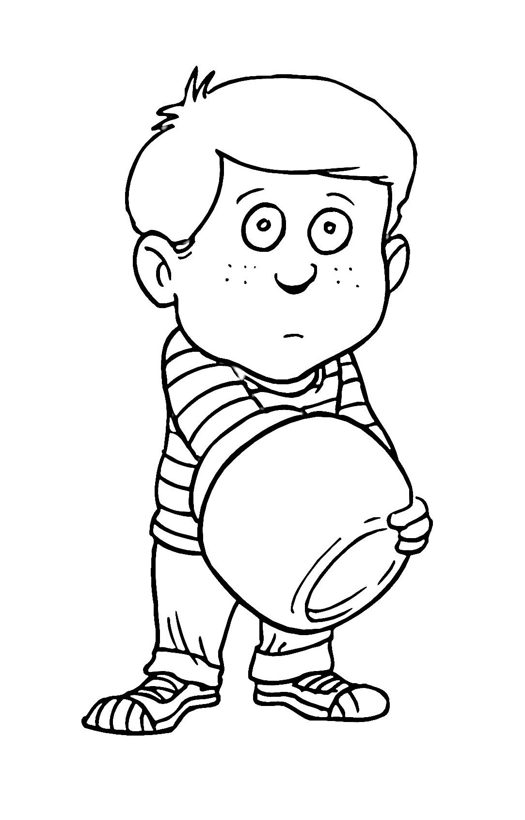 colouring page of a boy boy coloring pages to download and print for free page of a colouring boy