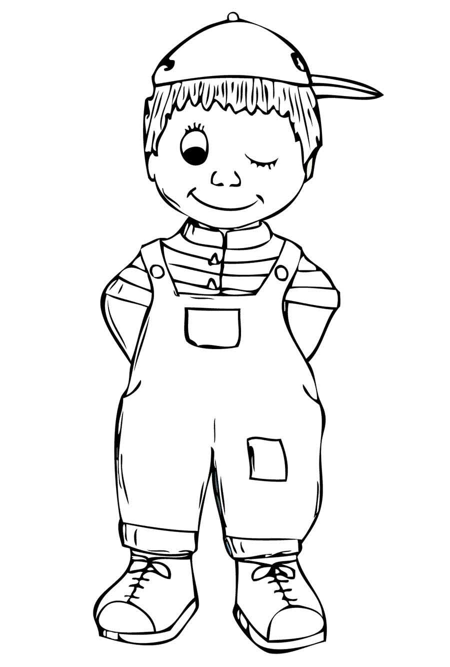 colouring page of a boy boy face coloring pages coloring home page a colouring of boy
