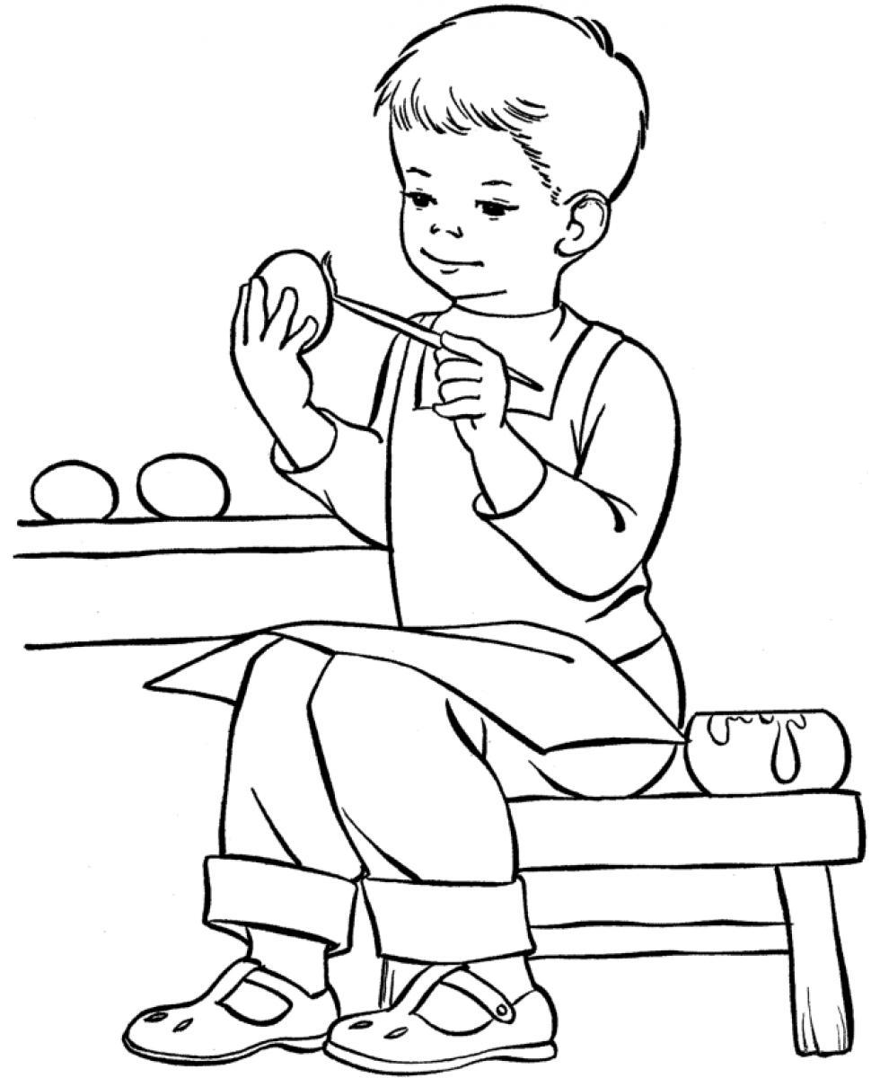 colouring page of a boy free printable boy coloring pages for kids cool2bkids of a boy page colouring