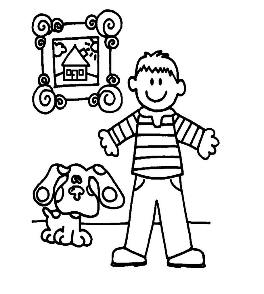 colouring page of a boy free printable boy coloring pages for kids of a boy page colouring