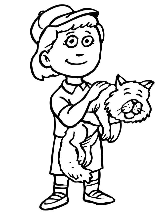 colouring page of a boy free printable boy coloring pages for kids page boy a colouring of