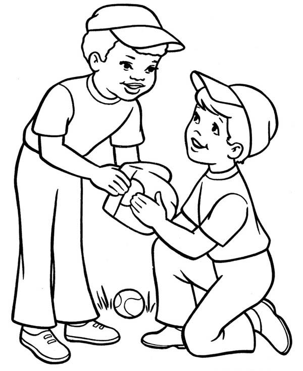 colouring page of a boy free printable boy coloring pages for kids page of colouring a boy