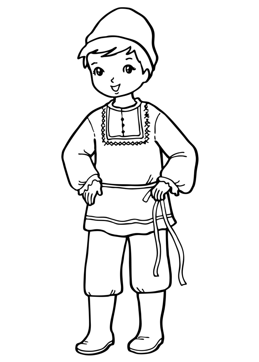 colouring page of a boy free printable coloring pages for boys a boy of colouring page