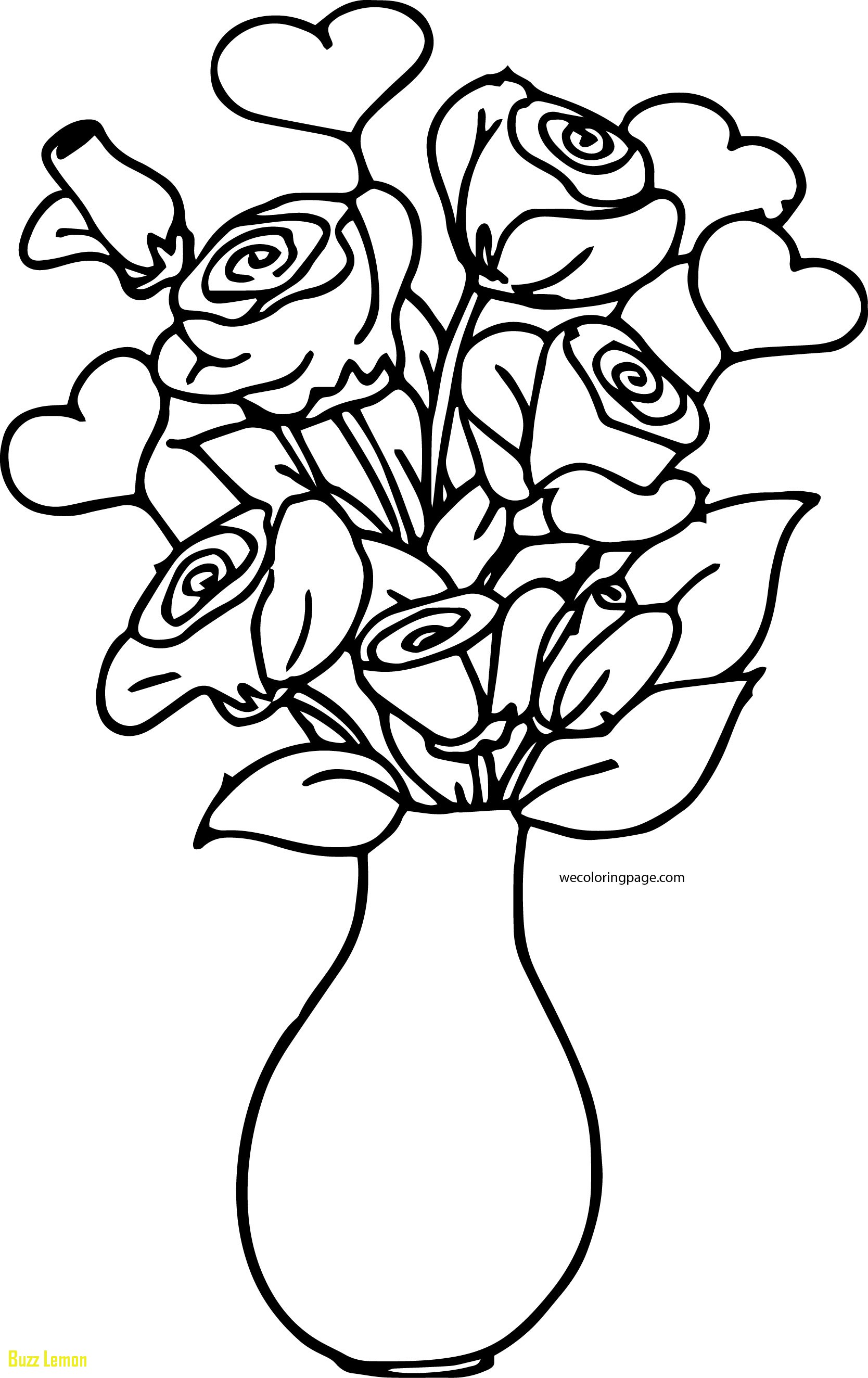 colouring pages flowers in a vase flower vase coloring pages at getcoloringscom free in pages flowers a colouring vase