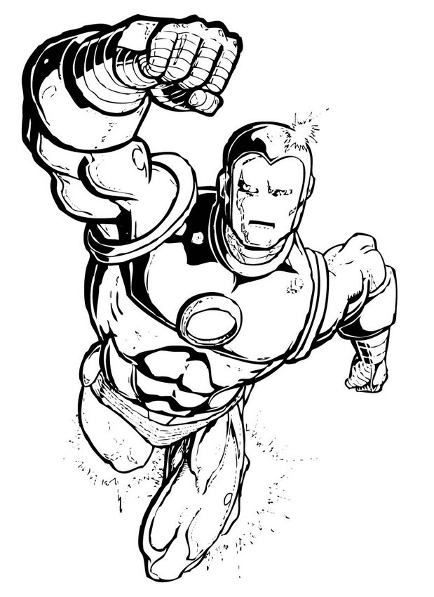 colouring pages iron man heroes iron man coloring page free coloring pages online pages colouring iron man