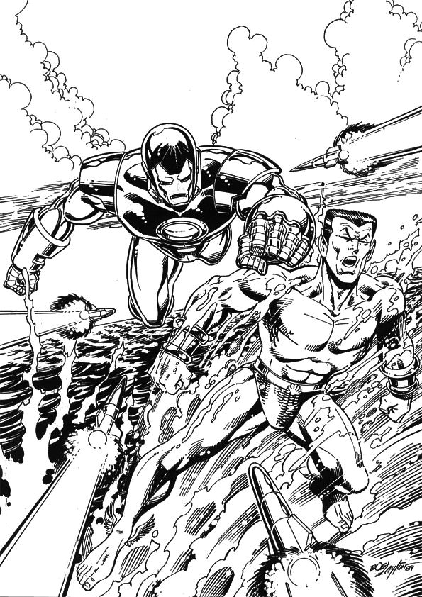 colouring pages iron man iron man cartoon coloring pages at getcoloringscom free man colouring iron pages