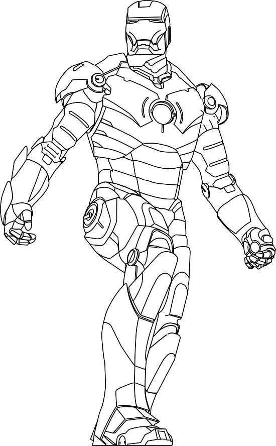 colouring pages iron man iron man the avengers best coloring pages minister colouring iron pages man