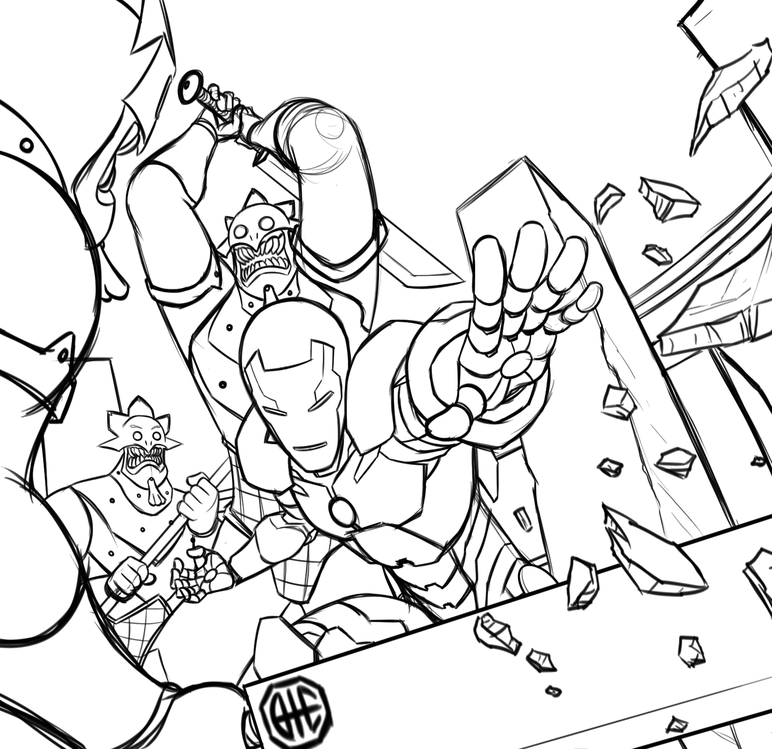 colouring pages iron man iron man the avengers best coloring pages minister pages colouring man iron