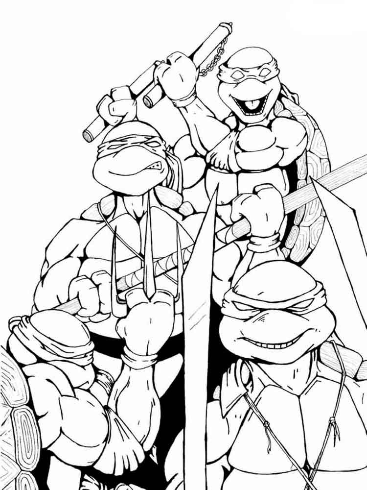 colouring pages ninja turtles coloring pages teenage mutant ninja turtles tmnt page colouring turtles ninja pages