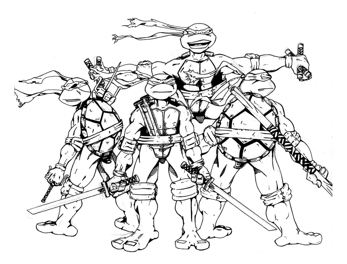 colouring pages ninja turtles coloring pages teenage mutant ninja turtles tmnt page pages colouring ninja turtles