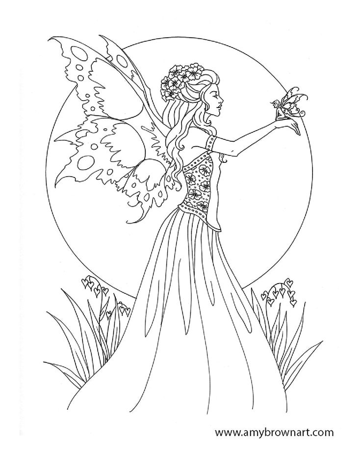 colouring pages of princesses and fairies coloring pages from barbie mariposa and the fairy princess of colouring princesses fairies pages and