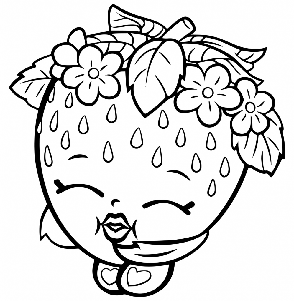 colouring pages of strawberry one large strawberry coloring page printable pages colouring of strawberry
