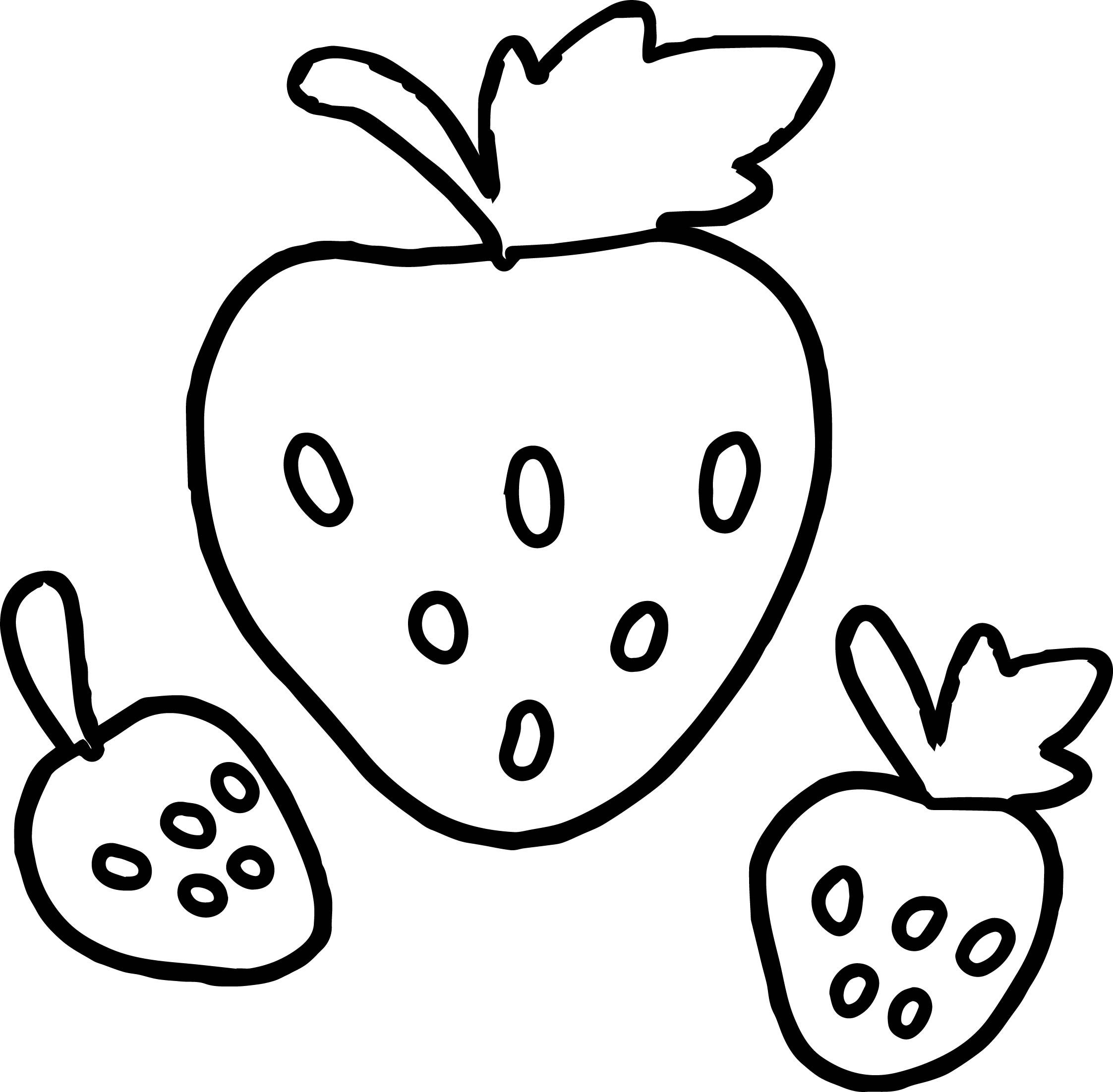 colouring pages of strawberry strawberries coloring pages coloring pages to download strawberry of pages colouring