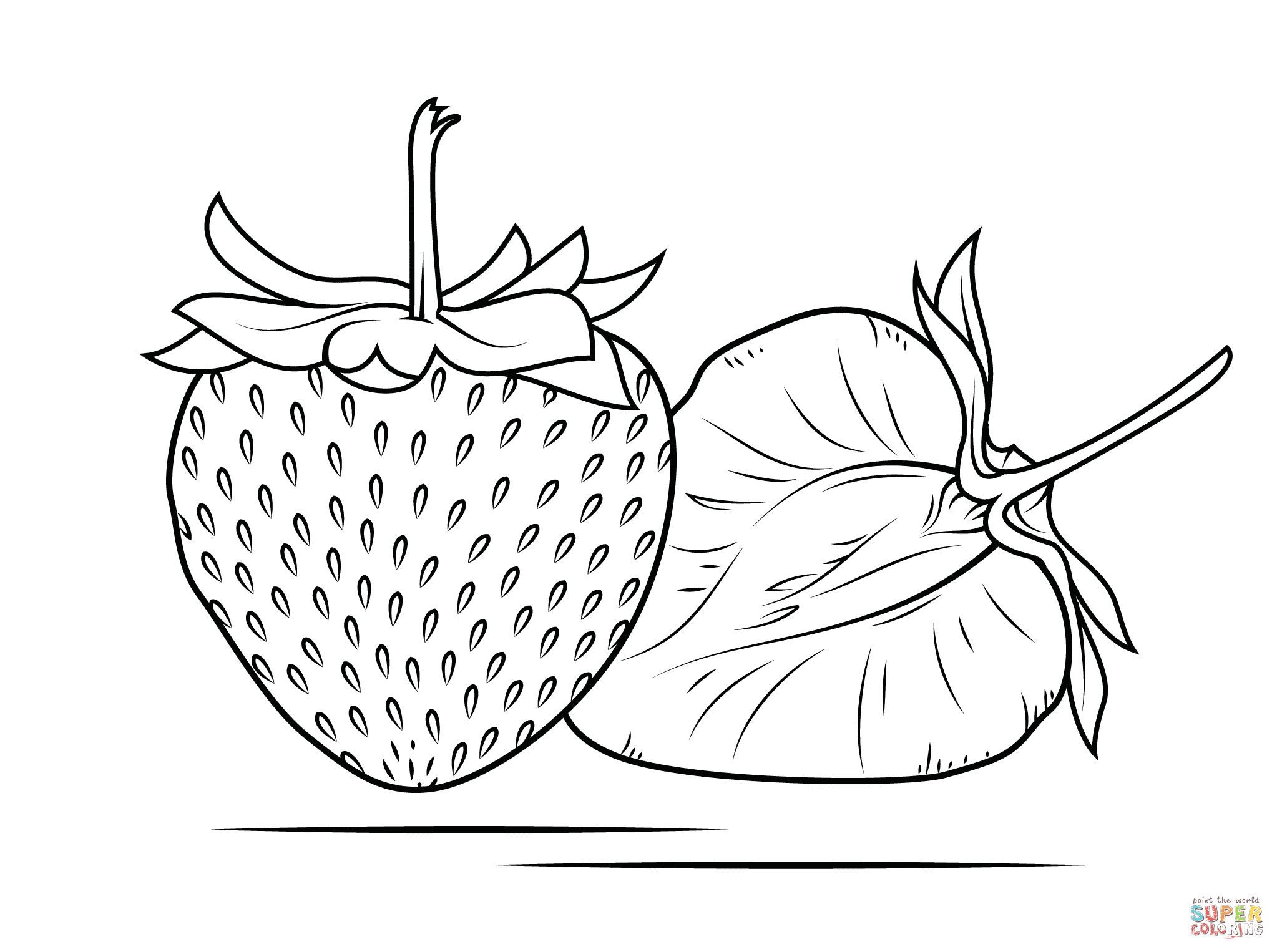 colouring pages of strawberry strawberry coloring pages coloring pages to download and pages colouring strawberry of