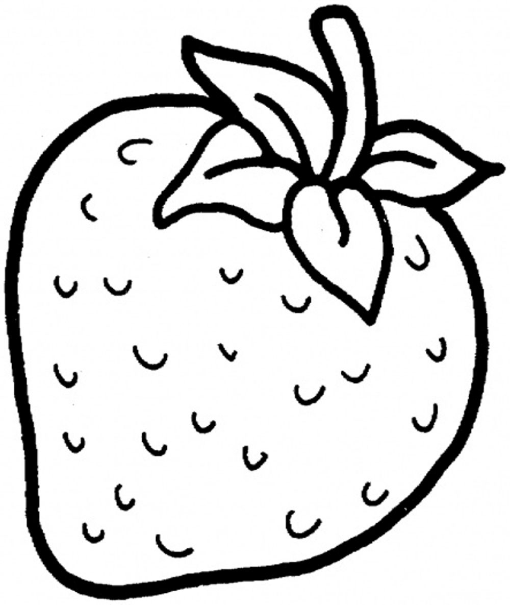 colouring pages of strawberry strawberry colouring page part 4 free resource for of colouring strawberry pages