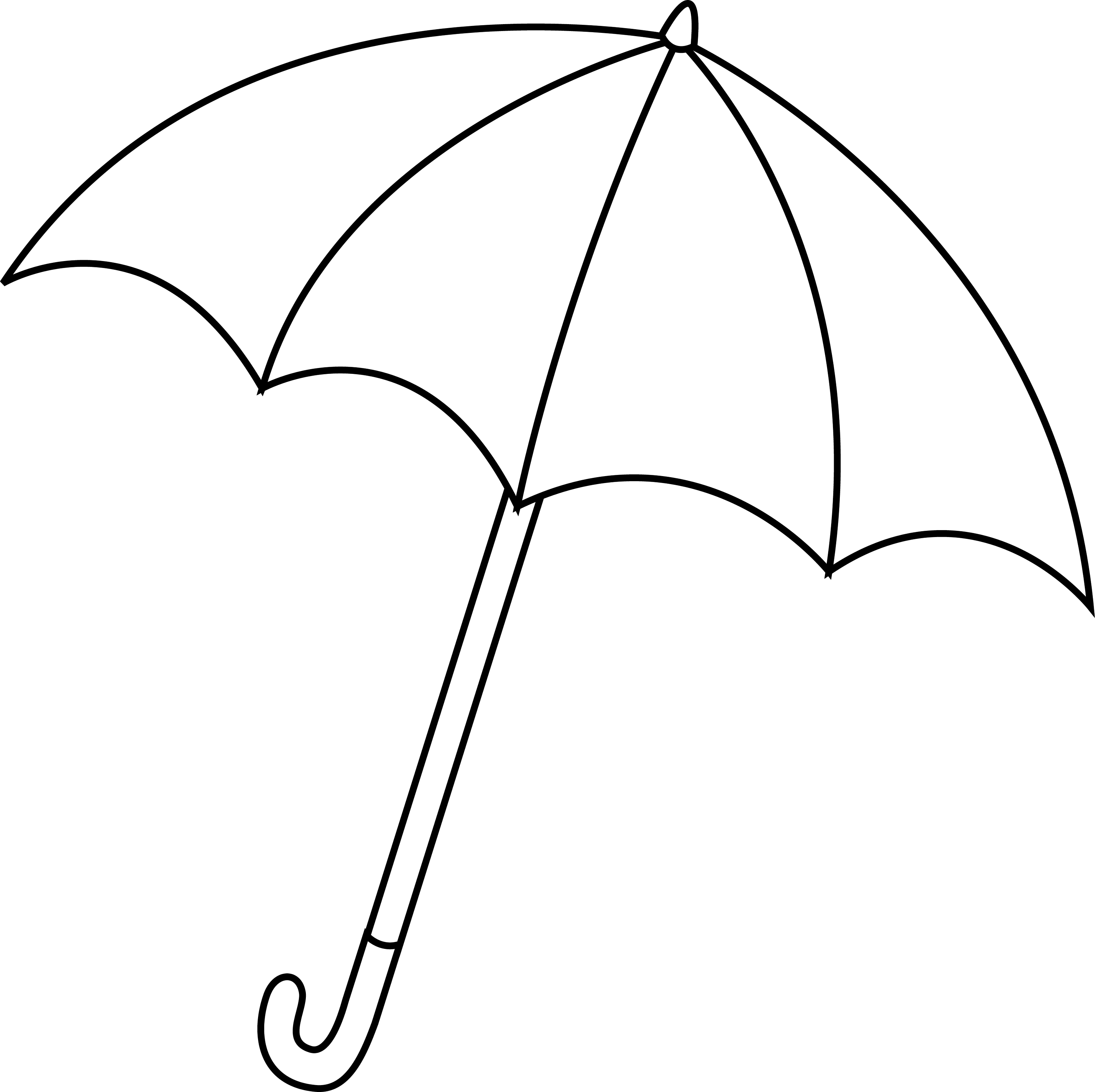colouring picture of umbrella rain umbrella drawing at getdrawings free download picture colouring of umbrella