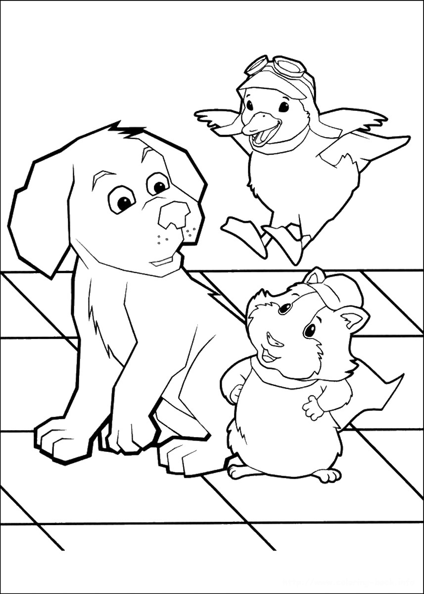 colouring pictures of pets wonder pets coloring pages colouring pictures of pets