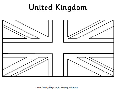 colouring pictures of the union jack flag british flag colouring for kids imagui flag of union pictures colouring jack the