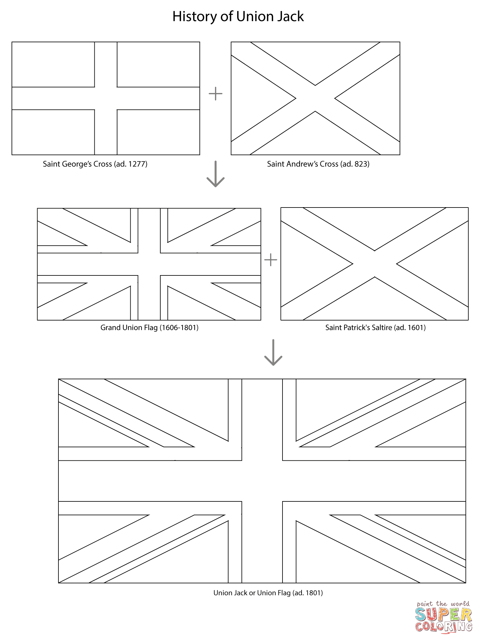 colouring pictures of the union jack flag union jack colouring page coloring pages union jack cards flag of jack union colouring pictures the