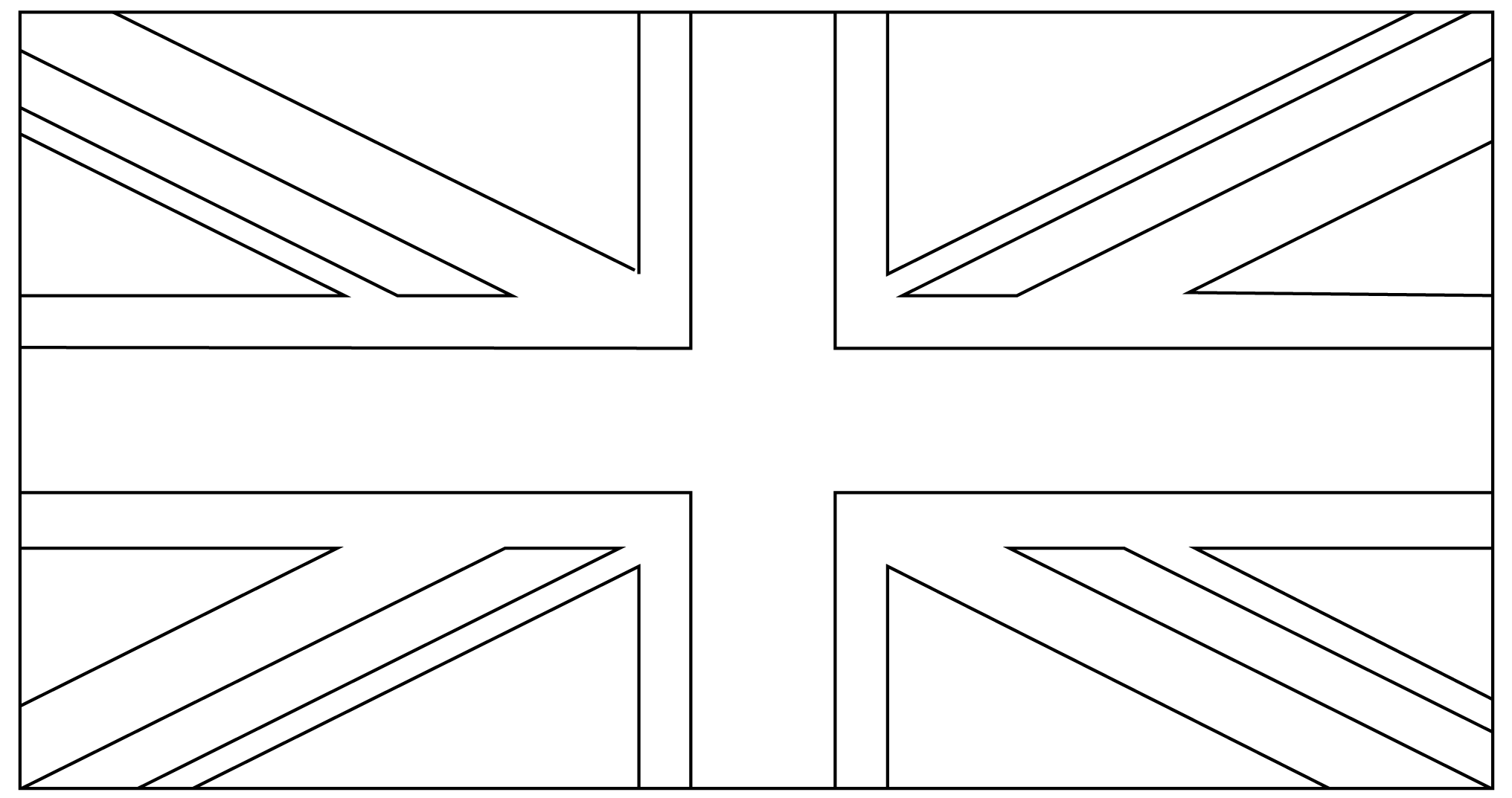 colouring pictures of the union jack flag union jack drawing at getdrawings free download union jack pictures flag of the colouring