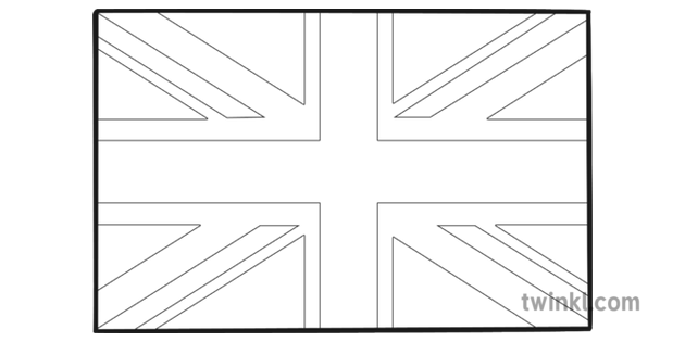 colouring pictures of the union jack flag union jack flag black and white illustration twinkl the colouring jack union pictures flag of