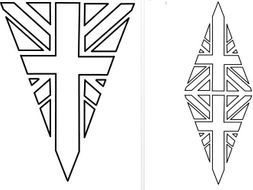 colouring pictures of the union jack flag union jack flag bunting colouring in teaching resources colouring union pictures flag of the jack