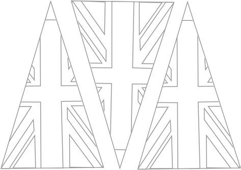 colouring pictures of the union jack flag union jack template 2 bunting template union jack pictures the jack colouring union of flag