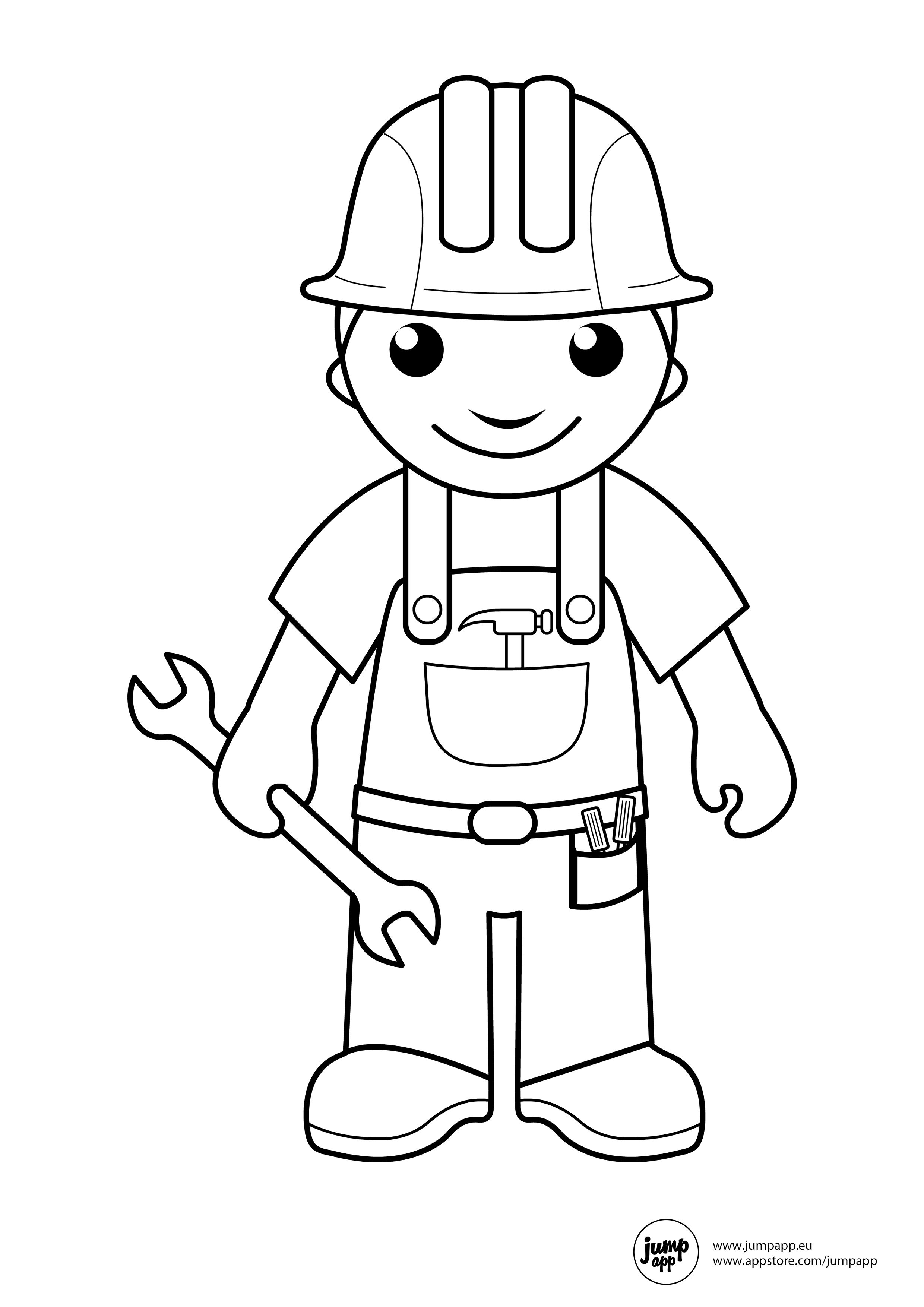 community helper coloring pages 10 pics of mailman community helper coloring pages coloring helper community pages