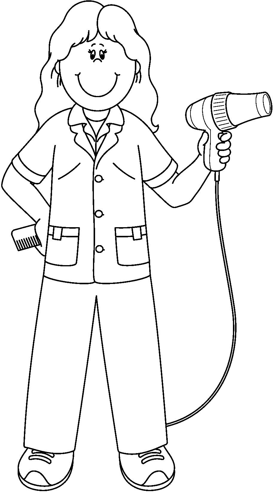 community helper coloring pages community helpers and people coloring pages momjunction pages coloring helper community