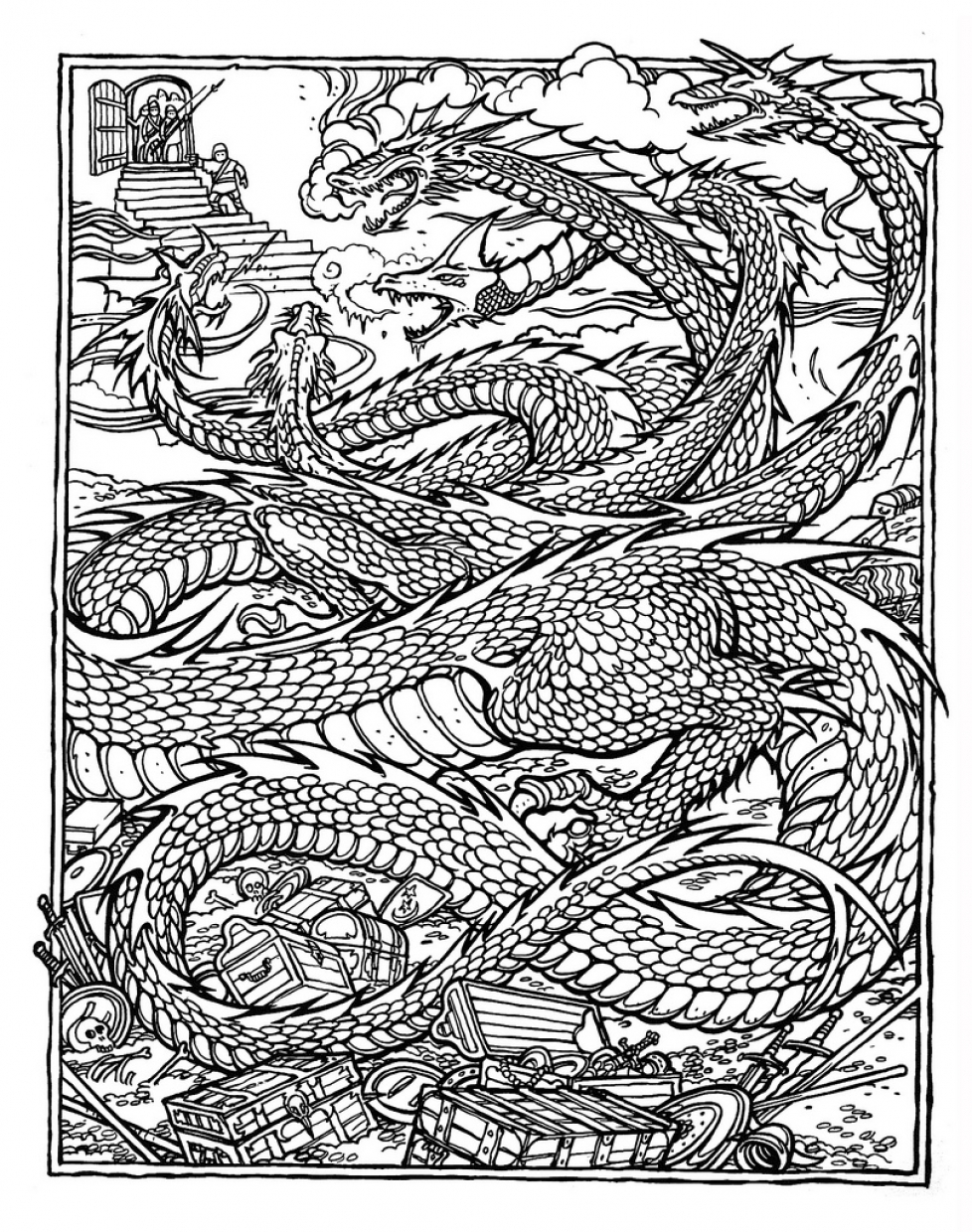 complex colouring pages complex coloring pages for teens and adults best complex colouring pages