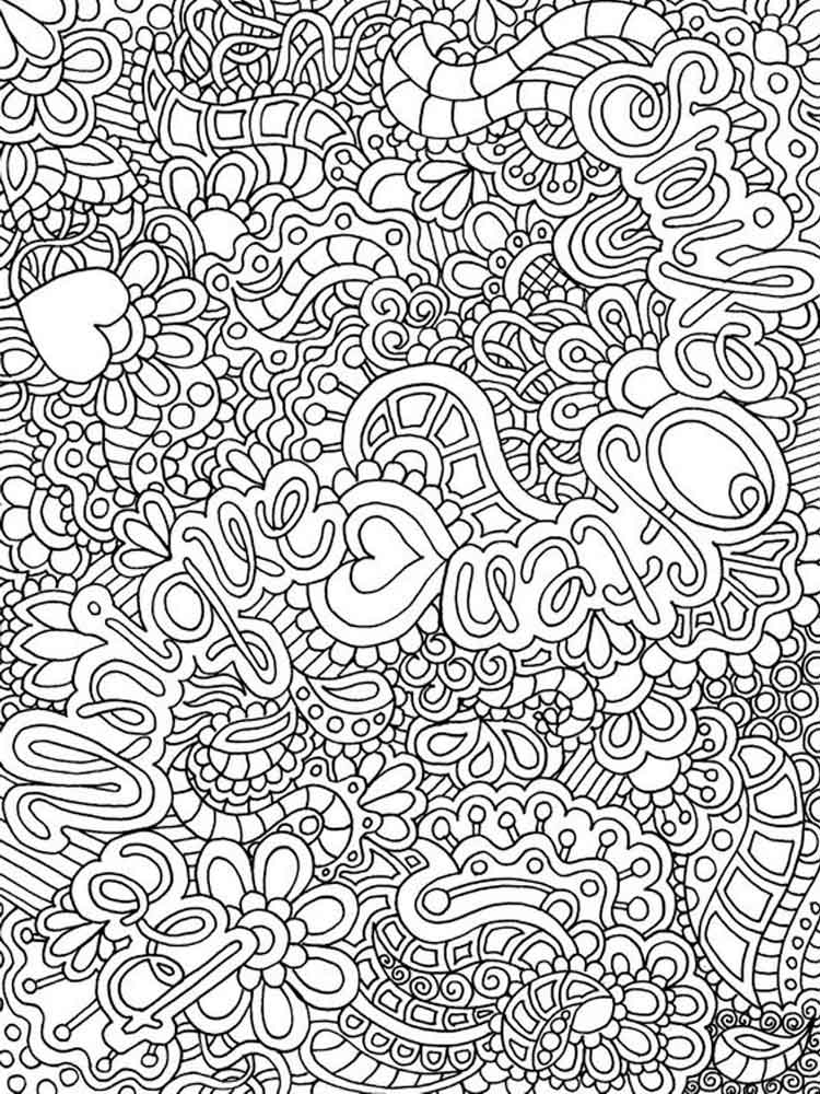 complicated coloring pages printable complicated coloring pages for adults keiikoo printable pages coloring complicated