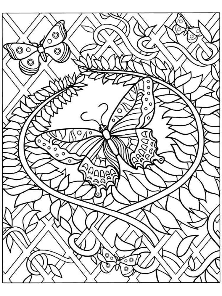 complicated coloring pages printable print download complex coloring pages for kids and adults pages coloring complicated printable